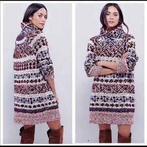 🆕 Free People Byzantine Tunic Sweater 🆕